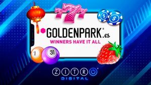 Goldenpark.es adds Zitro's digital portfolio to it's current online game offer