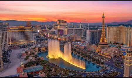 Nevada casinos continued to post improved revenues through August