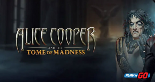 Play'n Go Releases New Online Game Alice Cooper And The Tome Of Madness