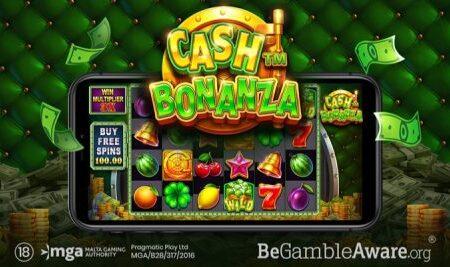 "Pragmatic Play adds ""lucrative"" title to growing games portfolio via new online slot Cash Bonanza"
